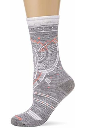 Smartwool Women's Women's Mountain Magpie Crew Wide Socks