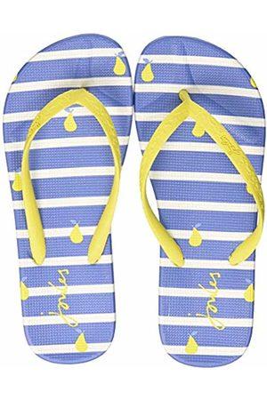 Joules Women's Flip Flops Pear Stripe Bluprstp