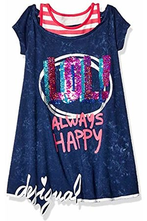Desigual Girl's Girl Knit Dress Short Sleeve (Vest_Jackson) Dress
