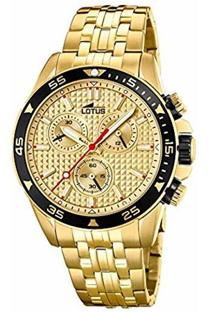 Lotus Mens Chronograph Quartz Watch with Stainless Steel Strap 18653/1