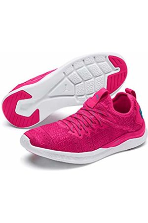 Puma Women's's Ignite Flash Irides TZ WNS Competition Running Shoes (Fuchsia -Caribbean Sea) 8 UK