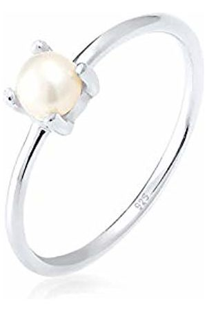 Elli Women's 925 Sterling Pearl Ring