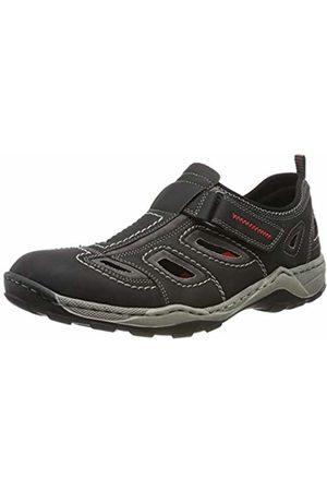 Rieker Men's 08075-01 Low-Top Sneakers 8 UK