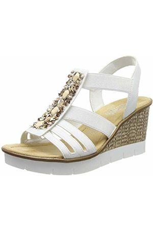dc60bf3408ff Rieker Women s 65596-80 Closed Toe Sandals 6.5 UK