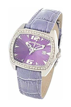 Chronotech Womens Analogue Quartz Watch with Leather Strap CT2188LS-08
