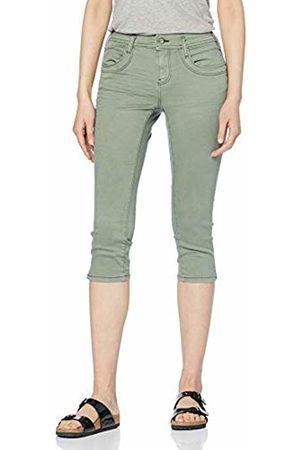 Tom Tailor Women's Alexa Capri Jeanshose Slim Jeans Pale Bark 13182