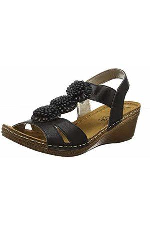 Lotus Women's Saphira Open Toe Sandals BBK