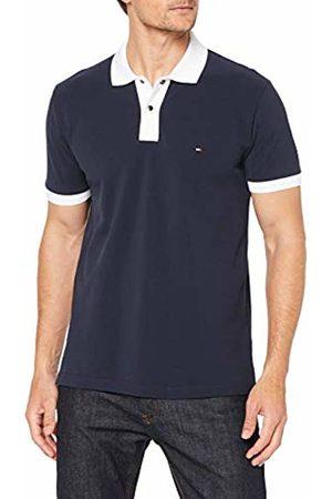Tommy Hilfiger Men's Contrast Placket Regular Polo Shirt