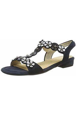 ARA Women's Vegas 1216835 T-Bar Sandals, ( /Silber