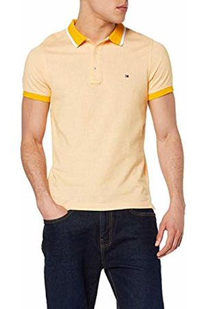Tommy Hilfiger Men's Jacquard Structured Slim Polo Shirt