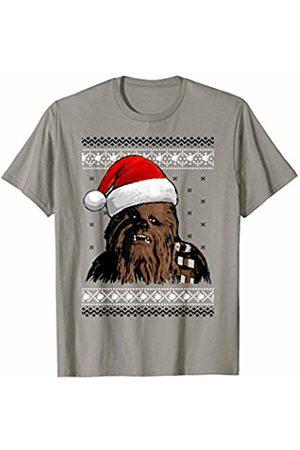 STAR WARS Chewbacca Santa Hat Ugly Sweater T-Shirt