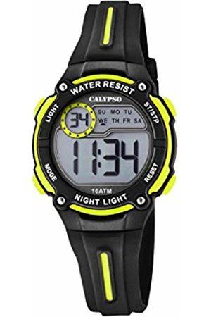 Calypso Unisex-Child Digital Quartz Watch with Plastic Strap K6068/5