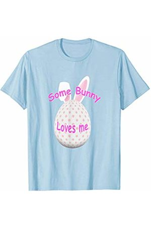 7e3def5ad4a Some Bunny Loves Me Cute Bunny Rabbit Easter Egg T-Shirt