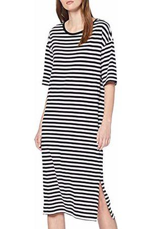 Noisy May NOS DE Women's Nmmayden 2/4 Dress Noos ( Stripes: Bright )