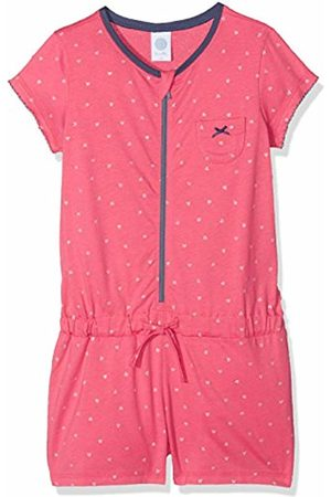 Sanetta 232093 Girls' One-Piece Pyjamas - Pink - 6 Years