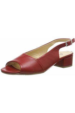 Sioux Women's Zippora Open Toe Sandals (Fire 005) 3.5 UK