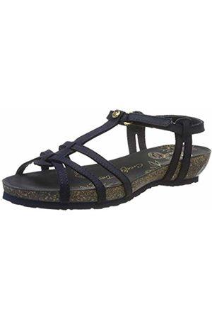 Panama Jack Women's Dori Basics Ankle Strap Sandals 8 UK