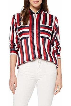 Seidensticker Women's Hemdbluse Langarm Modern Fit Gestreift Blouse