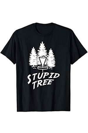 Crosote Tees Stupid Tree Shirt - Funny Disc Golf T-Shirt