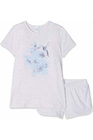 Sanetta 244083 Girls' 2-Piece Pyjama Set Short - - 8 Years