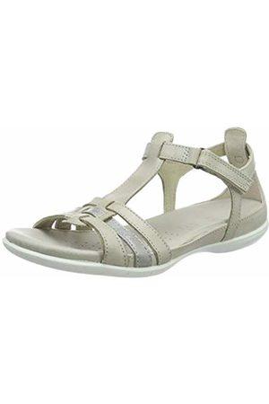 c16ab4e33 SALE. Ecco Women s Flash Ankle Strap Sandals (Gravel 59759) 3 UK. Amazon
