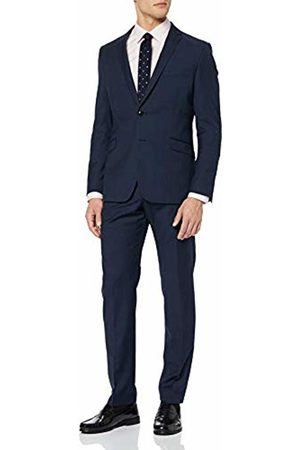 Strellson Men's Allen-Mercer Suit (Navy 417) 20 (Size: 46)