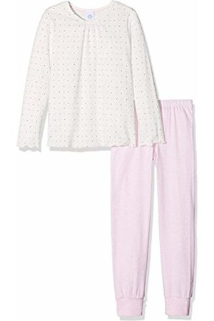 Sanetta 232066 Girls' Long Pyjama Set - - 6 Years