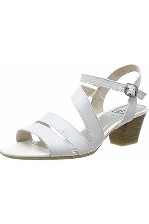 Jana Women's 8-8-28312-22 Ankle Strap Sandals, ( 100)