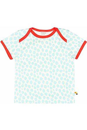 loud + proud Girl's T-Shirt Mit Druck, Aus Bio Baumwolle, GOTS Zertiziziert Cloud Cl