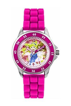 Princess Girls' Time Teacher Quartz Watch with Rubber Strap – PN1078