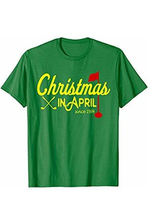 Funny Golf Shirt and Apparel Christmas in April Master Golf T-Shirt