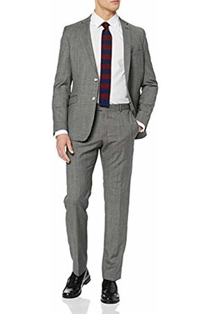Strellson Men's Allen-Mercer Suit (Charcoal 019) 28 (Size: 54)