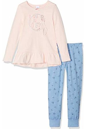 Sanetta Girls Long Pyjama Sets, ( Cream 38062.0)