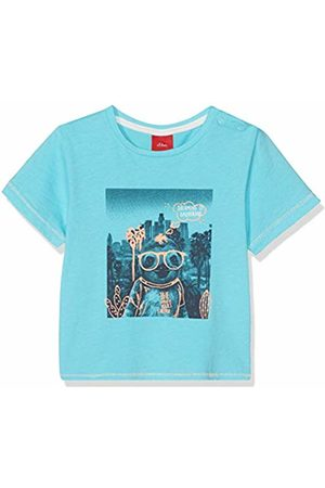 s.Oliver Baby Boys' 65.904.32.5652 T-Shirt, (Turquoise 6224)