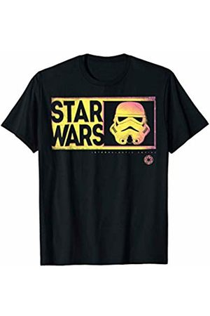 STAR WARS Thermal Style Stormtrooper Helmet Logo T-Shirt