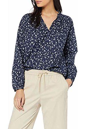 Seidensticker Women's Schlupfbluse Langarm Modern Fit Blumendruck Blouse