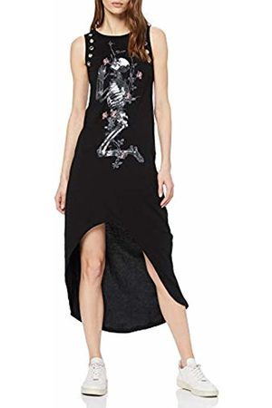 b5f6eaf212b Religion Women s Young Dress Round Collar Sleeveless Dress