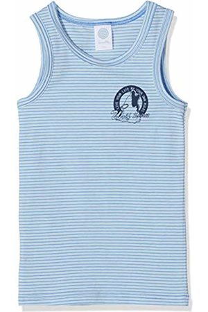 Sanetta Boys' Shirt w/o Sleeves Stripe Vest