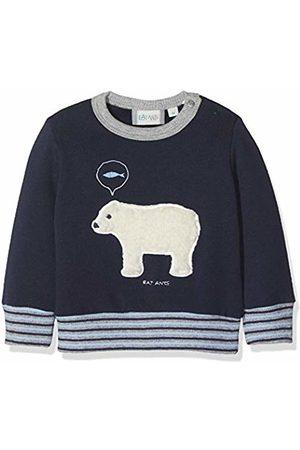 Sanetta Baby Boys Sweatshirt Blau (Evening 5683.0)