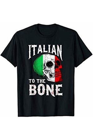 Italia Italy Pride T-Shirt Vintage Distressed Italian To The Bone Soccer Sports T-Shirt
