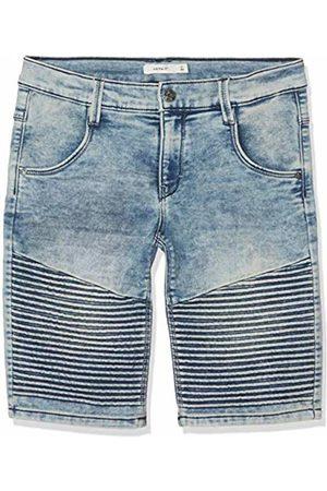 Name it Boy's Nkmsofus Dnmtaril 2175 Long Shorts Medium Denim