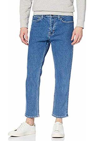 New Look Men's Norman Flat Slim Crop Trousers