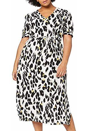 Lost Ink Women's Animal Print Midaxi Dress (Multi 0088)