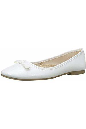 ZIPPY Girls' Bailarinas Con Lacito De Cuerda para Niña Closed Toe Ballet Flats, ( 1184)