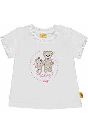 Steiff Baby Girls' T-Shirt 1/4 Arm Weiß (Bright