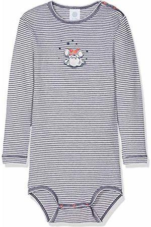 Sanetta Baby Boys' Body 1/1 w.Print, Stripe Bodysuit