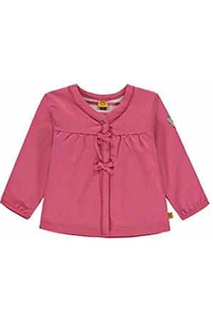 Steiff Baby Girls' Sweatjacke 1/1 Arm Track Jacket, (Fruit Dove|