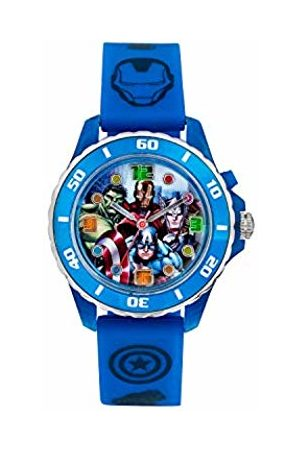 The Avengers Avengers Children's Quartz Watch with Dial Analogue Display and Rubber Strap AVG3506