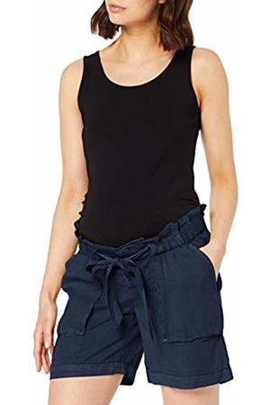 Mama Licious Women's Mlbethune Woven Shorts A. Maternity, Navy Blazer