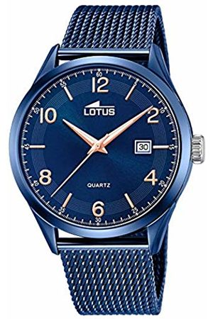 Lotus Mens Analogue Quartz Watch with Stainless Steel Strap 18632/1